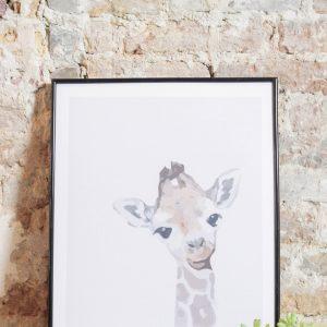 Giraffe 30 x 40 cm